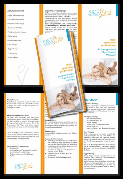 Flyer + Folder