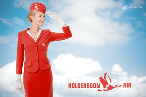 Holgersson Air Logo