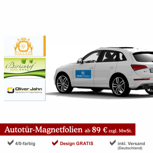 AutotürMagnetfolien89